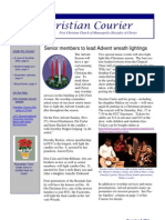 First Christian Courier- December 3, 2011