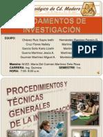 Tecnicas y Procedimientos Generales de La Investigacion[1]