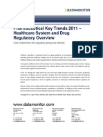 Healthcare System and Drug Regulatory Overview