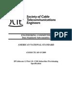 ANSI_SCTE 165-19 2009
