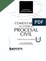 Comentarios Al Codigo Procesal Civil Peruano - Tomo II