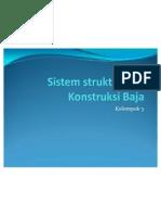 Sistem Struktur Dan Konstruksi Baja