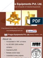 Pragya Equipments Private Limited Madhya Pradesh India
