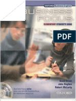 Business Focus Elementary Students Book