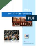 JSS UNIVERSITY 2nd Convocation Report 2011