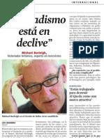Michael Burleigh. Entrevista a LV