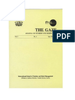 Gaze Front Pages