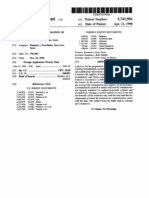 15954620 Synthesis of Pentaerythritol Patent