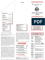 Newsletter 4 Dec 2011