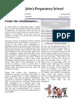Prep Newsletter No 12 2011