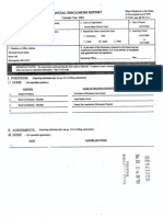 Michael J Davis Financial Disclosure Report for 2003