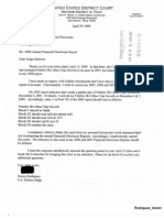 Xavier Rodriguez Financial Disclosure Report for 2008