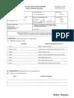Thomas L Ambro Financial Disclosure Report for 2010