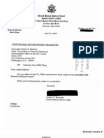 Sandra S Beckwith Financial Disclosure Report for 2008