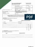 Ment Ira De Financial Disclosure Report for 2009