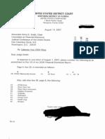 Roger Vinson Financial Disclosure Report for 2006