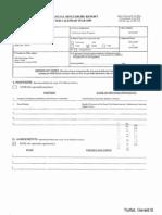 Gerald B Tjoflat Financial Disclosure Report for 2009