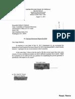 Reena Raggi Financial Disclosure Report for 2010
