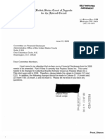 Sharon Prost Financial Disclosure Report for 2008