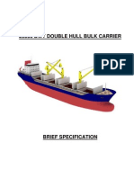 25000 Dwt Double Hull Bulk Carrier_brief_spec