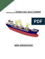 25000 Dwt Double Hull Bulk Carrier_brief_spec