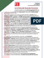 145 Razones Para La Firma Del Acuerdo-Convenio