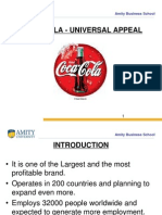 Coca Cola Universal Appeal