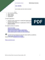 Maths Fiancière - Calcul des intérêts