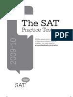 Official SAT® Practice Test 2009-2010