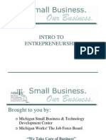 SBTDC Business Startup