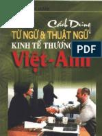 Cach Dung Tu Ngu Va Thuat Ngu Kinh Te Thuong Mai Viet-Anh
