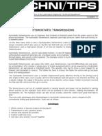 074 Hydro Static Transmissions