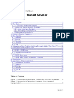 Transit Advisor