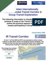 IR Transit Corridor