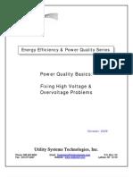 Fixing High Voltage-Overvoltage Problems