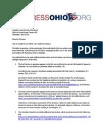 Letter to Franklin BOE 102208