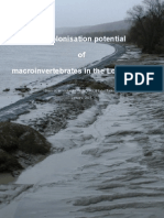 Recolonisation potential of macroinvertabrates in the Lower Seine.