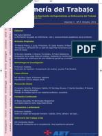 Enfermería del Trabajo, volumen 1, número 4, 2011