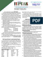 THUPUAK Volume 6, Issue 26_December 4, 2011