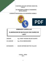 Seminario Mayolicas a Partir Del Cuarzo de Japo _cesar Mattos