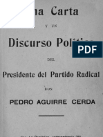 Discurso Pedro Aguirre Cerda 1934