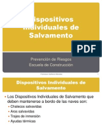 Dispositivos Individuales de Salvamento