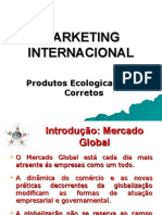 Marketing Internacional Para Produtos Eco Corretos