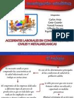 Proyecto de Aula Accidentes Laborales presentacion