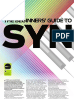 The Beginner's Guide to Synths