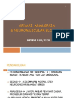 Mk Icu Slide Sedasi - Analgesia Neuromuscular Blockade