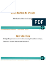 Introduction to Design and-mechanics