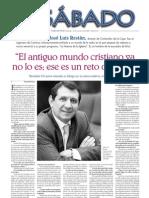 Entrevista a Restán (Faro de Vigo)