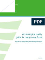 Ready to Eat Food Quality Guide