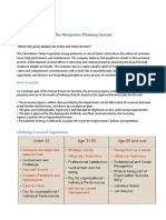 Overall Evaluation of the Manpower Planning System